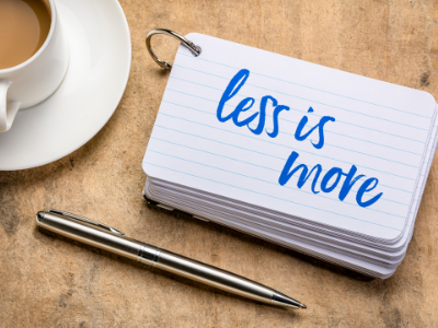 5 Ways For Entrepreneurs to Do Less and Accomplish More